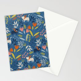 Cats & Flora Stationery Cards