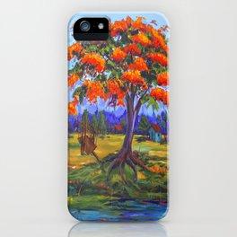 Flamboyan iPhone Case