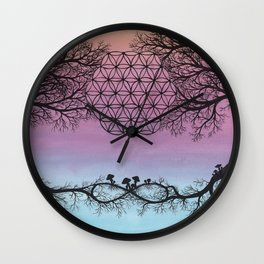 The Network of Life Wall Clock