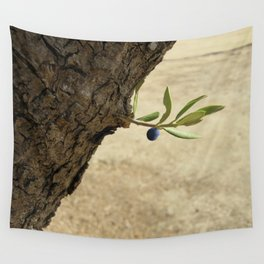 Olive branch Wall Tapestry