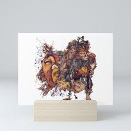 seam imaginations No.2 Mini Art Print