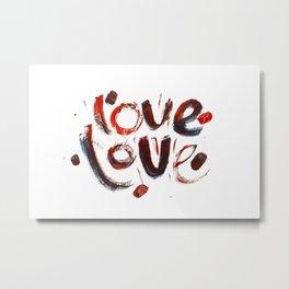 LoveLove Metal Print