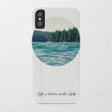Life on the Lake iPhone X Slim Case
