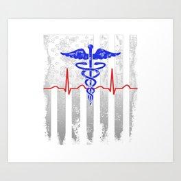 American Medical Art Print
