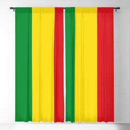 Flag of Ethiopia Ethiopian Rastafarian Flag Blackout Curtain