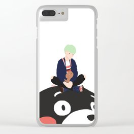 Suga & Holly Clear iPhone Case