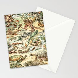 Reptiles II by Adolphe Millot // XL 19th Century Snakes Lizards Alligators Science Textbook Artwork Stationery Cards