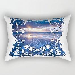 SUNSET FRAME Rectangular Pillow