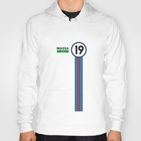 f1 Hoodies featuring F1 2015 - #19 Massa by MS80 Design