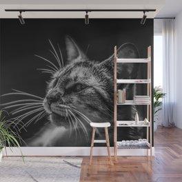 Cat by Lenin Estrada Wall Mural