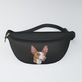 Podenco dog head portrait Fanny Pack