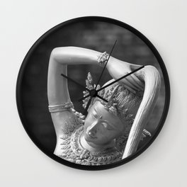 Thai goddness Wall Clock