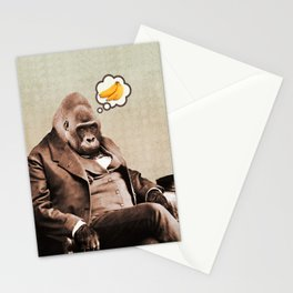 Gorilla My Dreams Stationery Cards