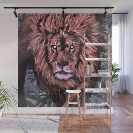 Lion Weed by CreepSeason Wall Mural