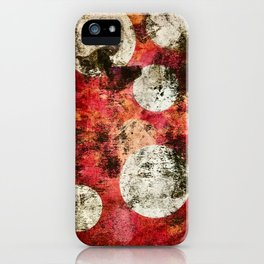 Red Morning Sky iPhone Case