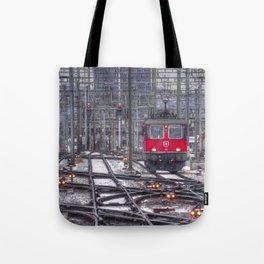 Electric Suisse Tote Bag