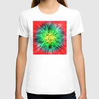 tie dye T-shirts featuring Colorful Vintage Tie Dye by Phil Perkins