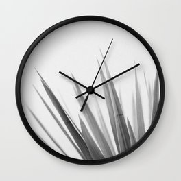 Pointy leaves Wall Clock