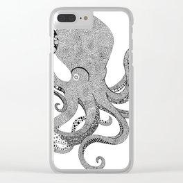 StudioJulia Octopus Clear iPhone Case