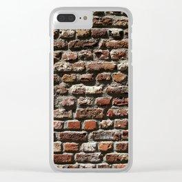 Brik wall Clear iPhone Case