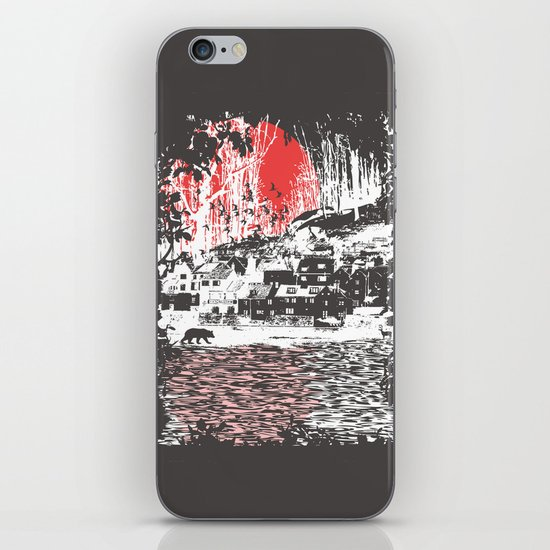 Cosmic Winter - Dark iPhone & iPod Skin