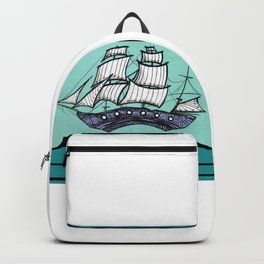 Oh, Ship. We're Going Down Backpack