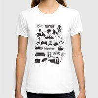hipster T-shirts featuring hipster by tycejones