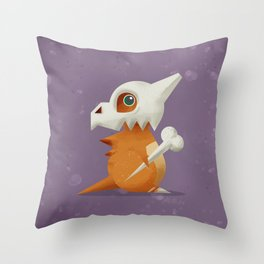 104 Cubone Throw Pillow
