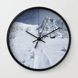 Mammoth Mountain: Chair 14 Wall Clock