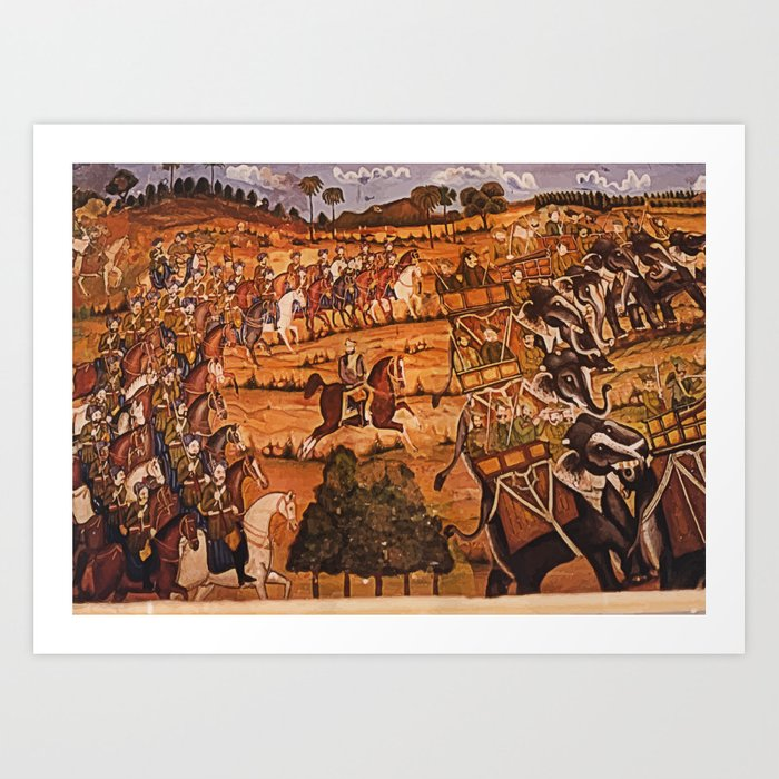 king's entourage