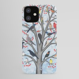 winter birds of North America iPhone Case