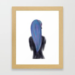 She Is My Universe Framed Art Print