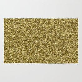 Gold Glitter Rug
