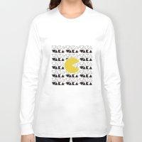 pac man Long Sleeve T-shirts featuring · Pac Man · by Diana Fernanda Vélez