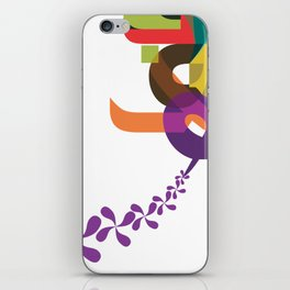 Flowers of Simele iPhone Skin
