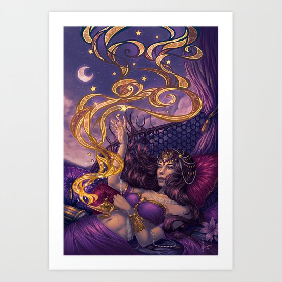 Badra Art Print