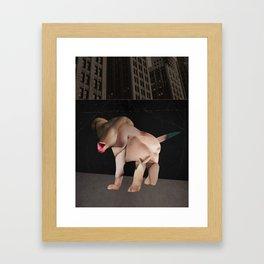 Kafka's Dog Framed Art Print