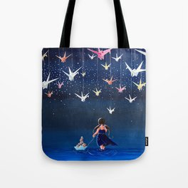 Origami Dream Tote Bag