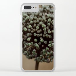 flower explosion Clear iPhone Case