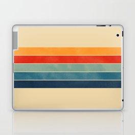 retro stripes Laptop & iPad Skin