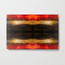 Sedona light geometry III Metal Print