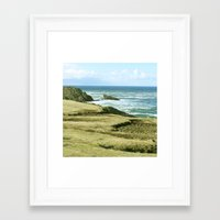 west coast Framed Art Prints featuring West Coast by BRITADESIGNS