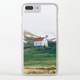 Vestfirðir IV Clear iPhone Case
