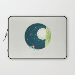 Where nature ends Laptop Sleeve