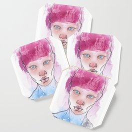Untitled ( Study of a Woman ) Coaster