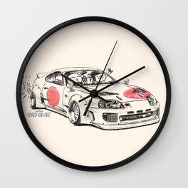 Crazy Car Art 0178 Wall Clock