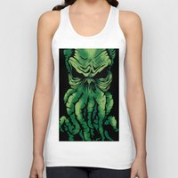 cthulhu Tank Tops featuring Cthulhu by PCRK