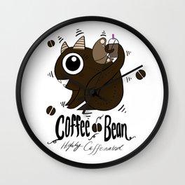 Coffee Bean Dragon Wall Clock