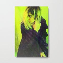 A Girl I Never Met I Metal Print