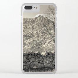 Guadarrama landscape Clear iPhone Case